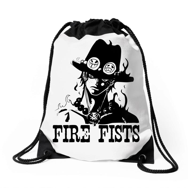 Custom Fire Fists Ace Drawstring Bags By Specstore