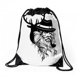 Wise Wild Drawstring Bags   Artistshot