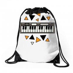 music,keyboard,electronic,piano,triangle,reflections,cute,vectorart, Drawstring Bags | Artistshot