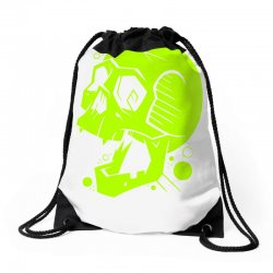 Toxic Scream Drawstring Bags | Artistshot
