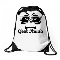Geek Panda Drawstring Bags | Artistshot