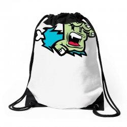 Screaming Paw Drawstring Bags | Artistshot