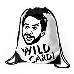 wild card Drawstring Bags | Artistshot