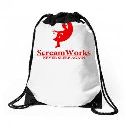 ScreamWorks Drawstring Bags   Artistshot