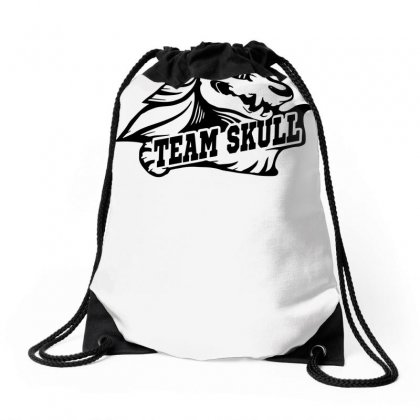 Team Skull Drawstring Bags Designed By Specstore