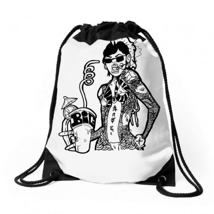 Yakuza Punch Drawstring Bags Designed By Specstore