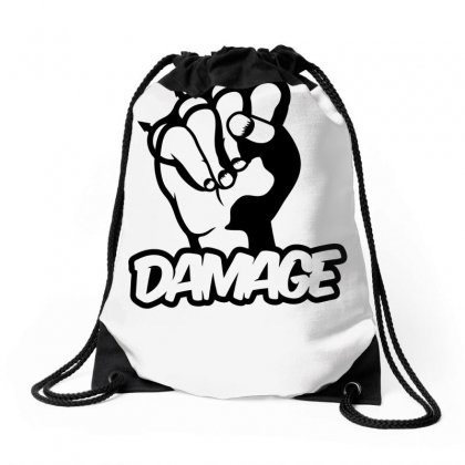 Damage Punch Drawstring Bags Designed By Specstore
