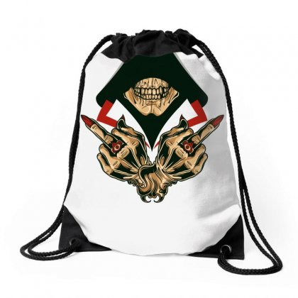 Dead Assassins Drawstring Bags Designed By Specstore