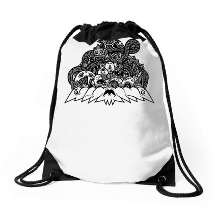 Ilumination Doodle Drawstring Bags Designed By Specstore