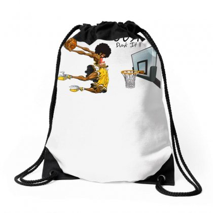 Just Dunk It Drawstring Bags Designed By Specstore