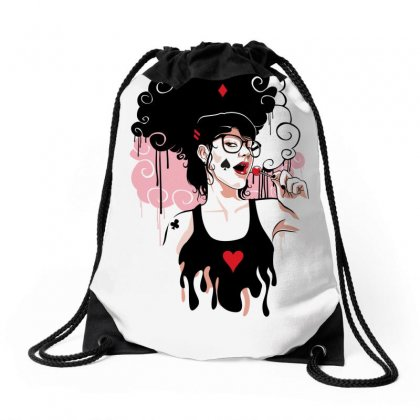 Lollipop Girl Drawstring Bags Designed By Specstore