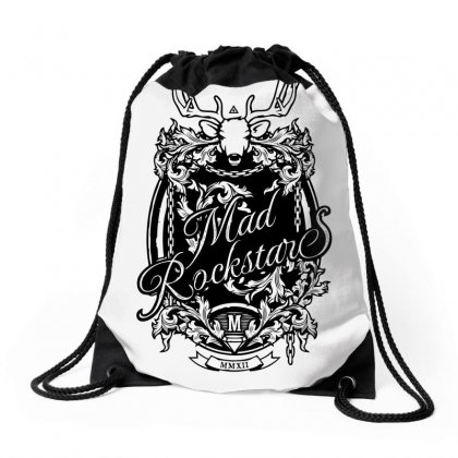 Mad Rockstar Myth Drawstring Bags Designed By Specstore