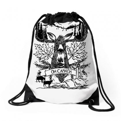 Oh Canada Drawstring Bags Designed By Specstore