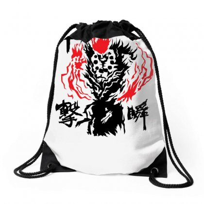 Raging Demon Drawstring Bags Designed By Specstore