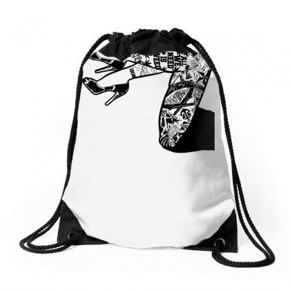 Tattooed Legs Drawstring Bags Designed By Specstore