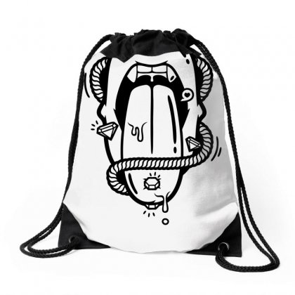 The Diamond Tongue Drawstring Bags Designed By Specstore