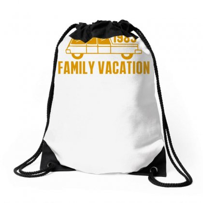 Family Vacation Drawstring Bags Designed By Ditreamx