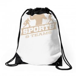 sports and teams Drawstring Bags | Artistshot