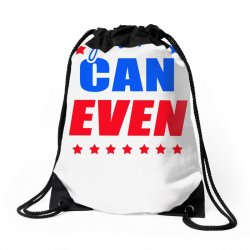 Yes We Can Even Drawstring Bags | Artistshot
