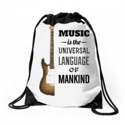 music quotes Drawstring Bags | Artistshot