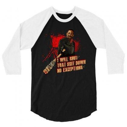 Negan 3/4 Sleeve Shirt Designed By Vr46