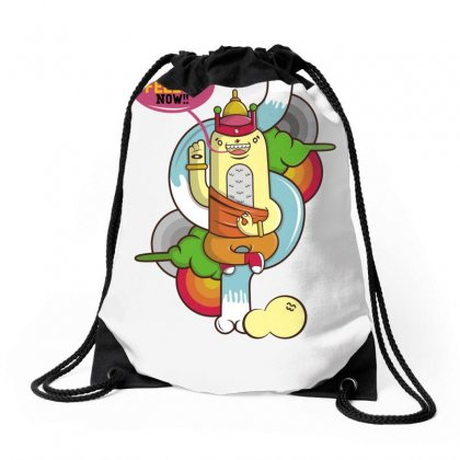 You Can Calm Now Drawstring Bags Designed By Specstore