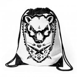 wild bear Drawstring Bags | Artistshot