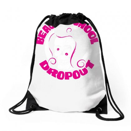 Beauty School Dropout Drawstring Bags Designed By Specstore