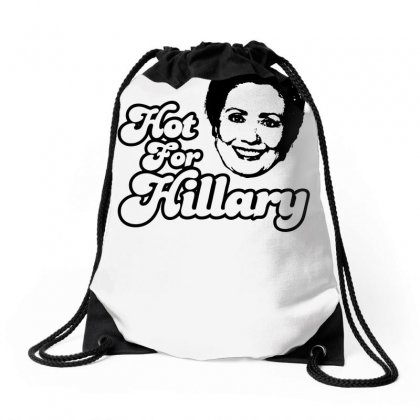 Hot For Hillary Drawstring Bags Designed By Specstore