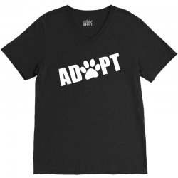 Adopt a Pet in Need V-Neck Tee | Artistshot
