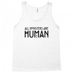 All monsters are human Tank Top   Artistshot