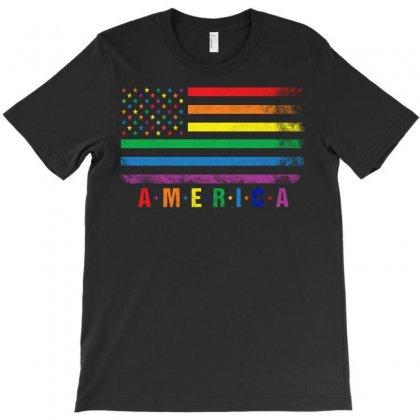 America T-shirt Designed By Tshiart