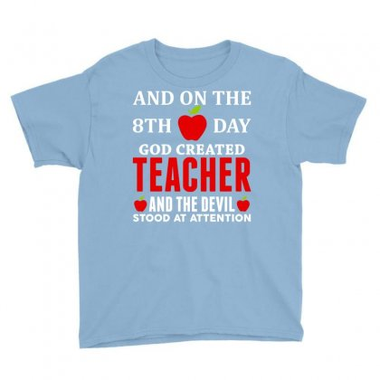 Proud Teacher Youth Tee Designed By Tshiart