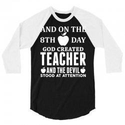 Proud Teacher 3/4 Sleeve Shirt   Artistshot