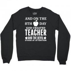 Proud Teacher Crewneck Sweatshirt   Artistshot