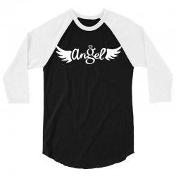 angel 3/4 Sleeve Shirt | Artistshot