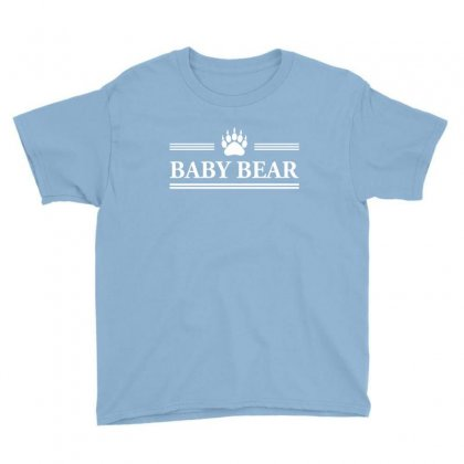 Baby Bear Youth Tee Designed By Tshiart