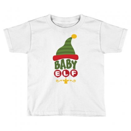 Baby Elf Toddler T-shirt Designed By Tshiart