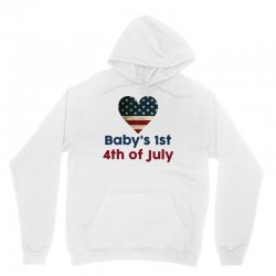 Baby's 1st 4th of July Unisex Hoodie | Artistshot