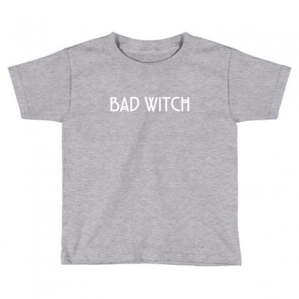 Bad Witch Toddler T-shirt Designed By Tshiart