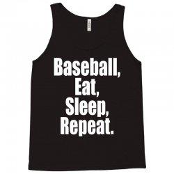 Eat Sleep Baseball Repeat Funny Tank Top | Artistshot