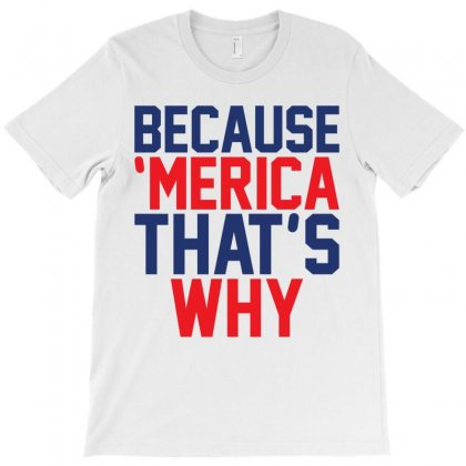 Because 'merica That's Why T-shirt Designed By Tshiart