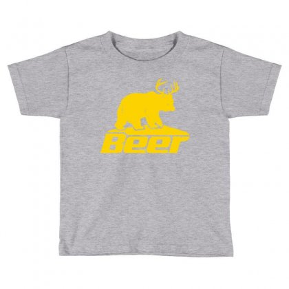 Beer Toddler T-shirt Designed By Tshiart
