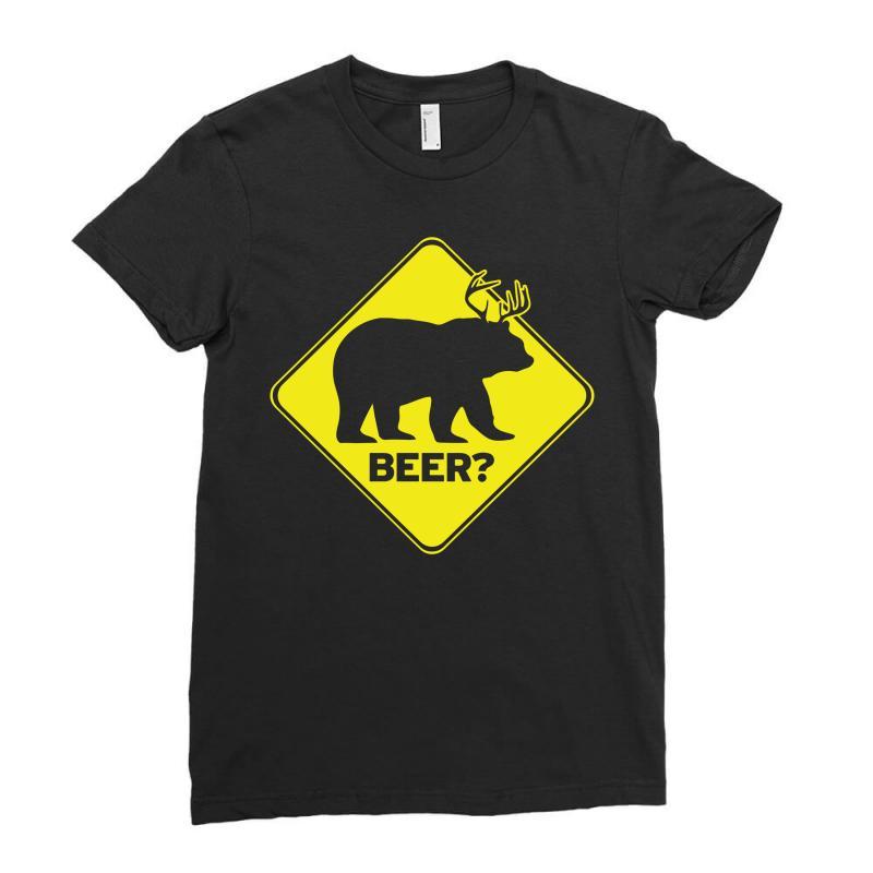 Beer Ladies Fitted T-shirt | Artistshot