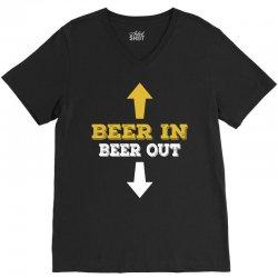 Beer in Beer out V-Neck Tee | Artistshot