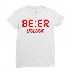 Beer O'clock Ladies Fitted T-Shirt | Artistshot