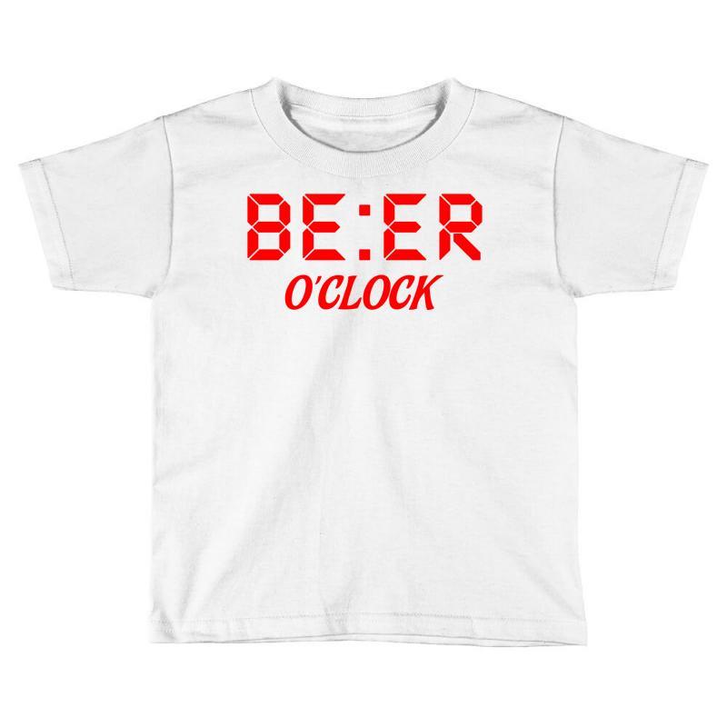 Beer O'clock Toddler T-shirt | Artistshot