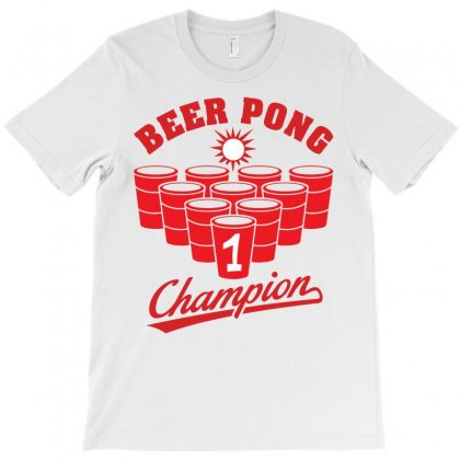 Beer Pong Champion T-shirt Designed By Tshiart