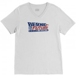 Bernie For The Future V-Neck Tee | Artistshot