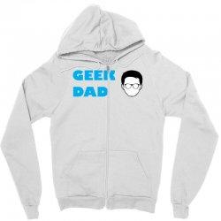 geek dad Zipper Hoodie | Artistshot
